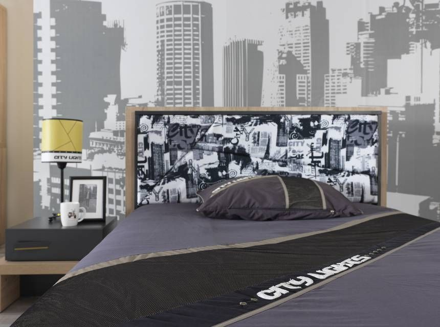 CITY  Bed (120x200cm)