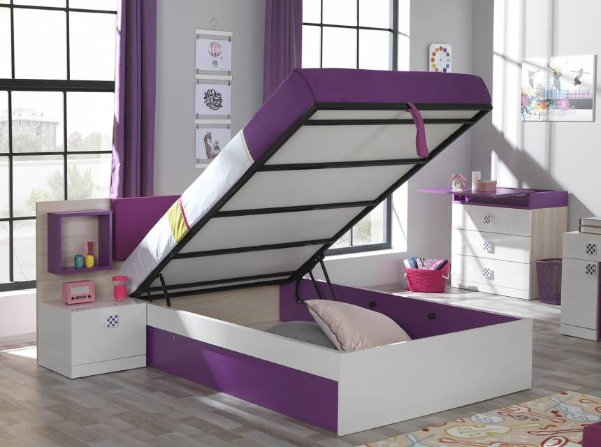 TREND Bed With Base (100x200cm)