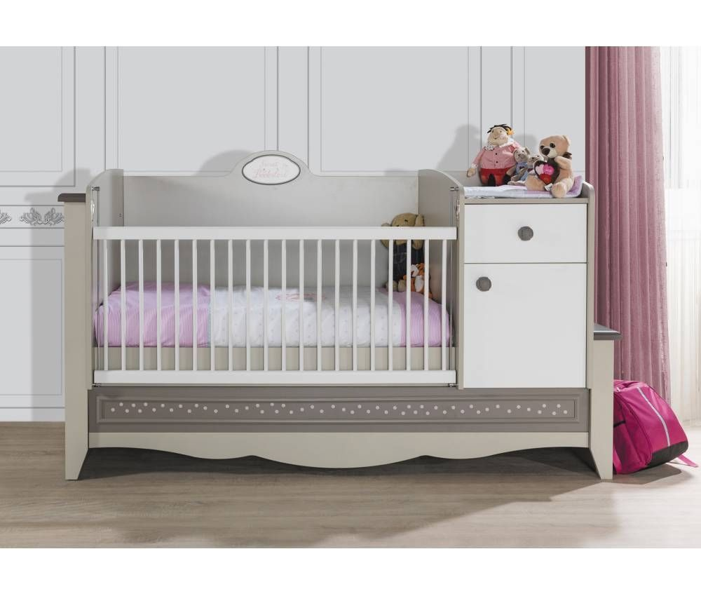 HOUSES Convertible Baby Bed
