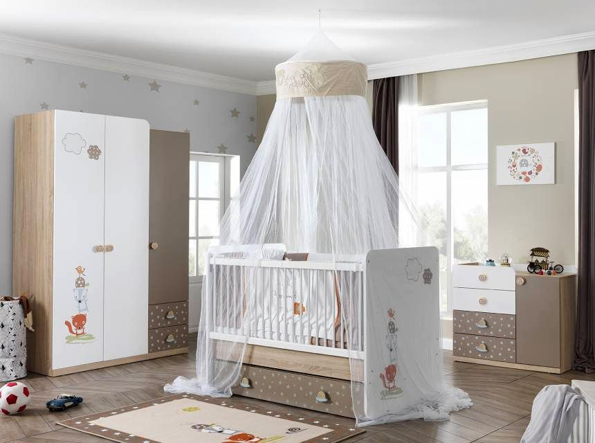 CARINO Swinging Baby Bed