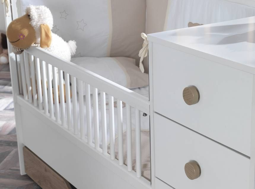LIFE - TR Convertible Baby Bed