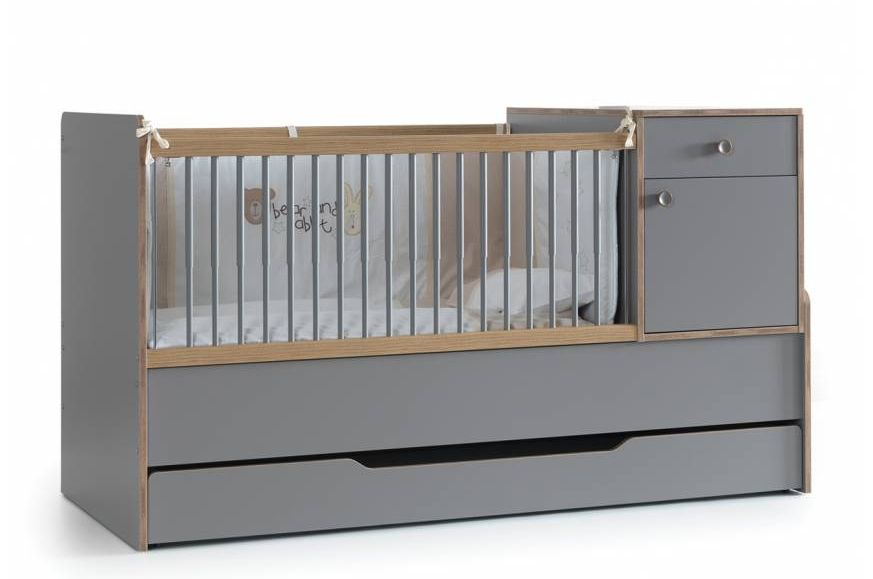 FINDIK - TR Convertible Baby Bed