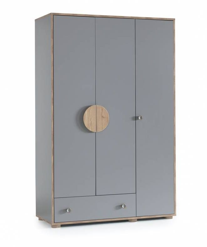 FINDIK  3 Door Wardrobe