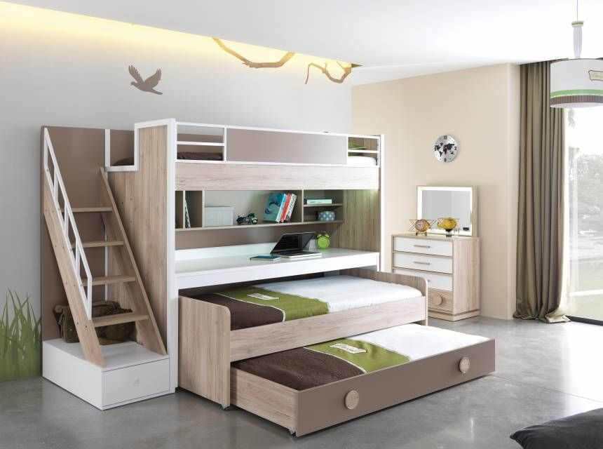 Alfa Desk For Bunk Bed