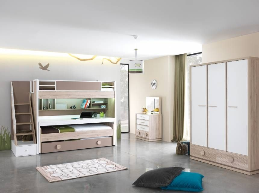Alfa Middle Bed For Bunk Bed