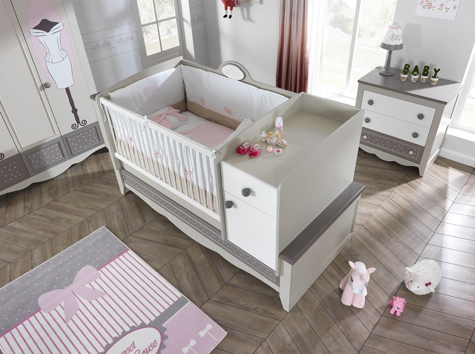 HOUSES Baby Bedding Set